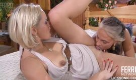 Licking pussy - Ninette Ukranian Light Haired Lezzie